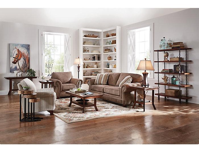Dunhaven Sofa Table, Brown, , large