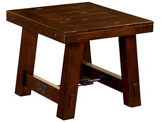 Chadwick Rectangular End Table, Brown, , large