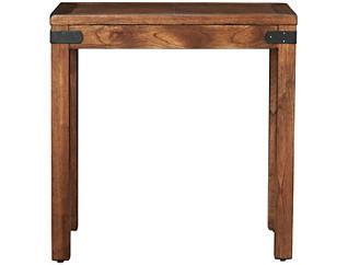 Safari Chairside Table, Brown, , large