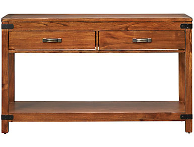 Safari Sofa Table, Brown, , large