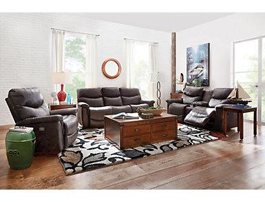 Safari Brown Sofa Table, , large