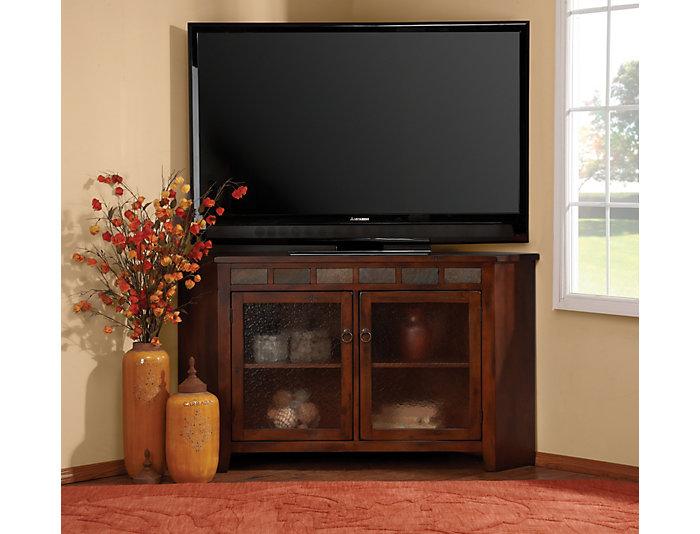 Santa Fe Corner TV Console, , large