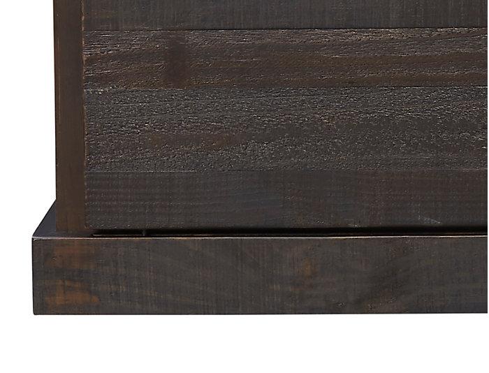 "Dalton 65"" Charred Oak Console, , large"