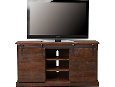 "Dalton II 65"" Chocolate TV Stand, , large"