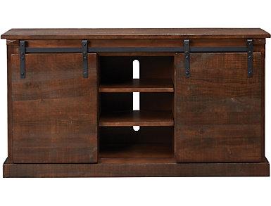 """Dalton II 65"""" Chocolate TV Stand, Brown, large"""