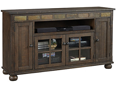 "Landon 62"" Console, Tobacco Leaf, , large"