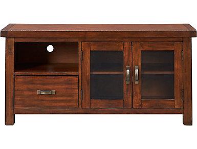 "Weston 54"" Vintage Mahogany TV Stand, , large"