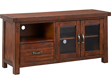 "Weston 54"" Vintage Mahogany TV Stand, , large"
