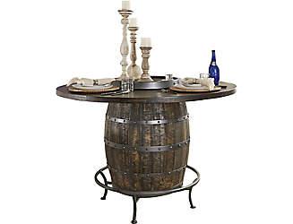 homestead barrel table kitchen  u0026 dining room tables   art van furniture  rh   artvan com