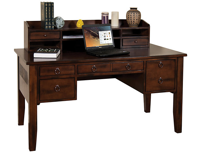 Santa Fe Writing Desk & Hutch, , large