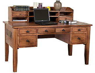 home office set clear all filters sedona writing desk and hutch