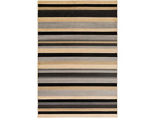 Lenoir Stripe 5.3x7.6 Rug, , large