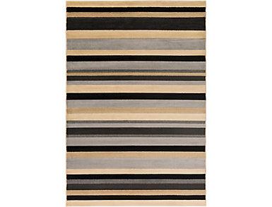 Lenoir Stripe 5.3x7.6 Rug, , large