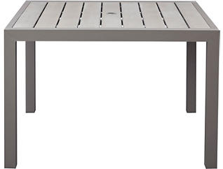 "Torino 44"" Square Table, , large"