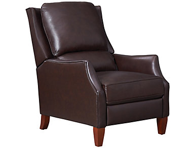 LaSalle Leather Recliner, , large