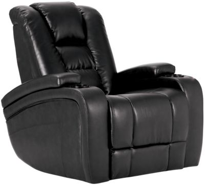 Matrix Power Recliner, Black, swatch