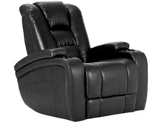 Matrix Power Recliner, Black, large