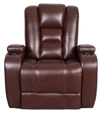 Matrix Power Recliner, Brown, swatch