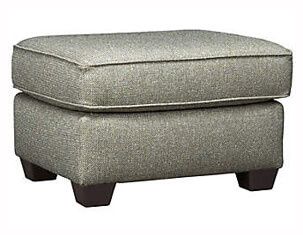 Serena III Leather Cocktail Ottoman