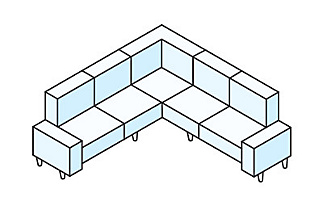 Stationary sectional diagram