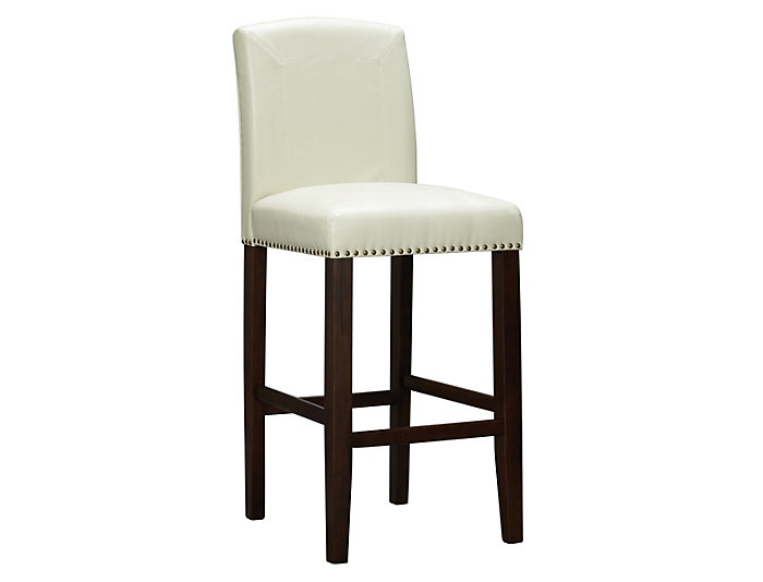 Brianne Taupe Bar Stool, , large