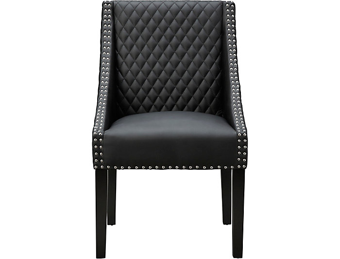 Fox Dining Chair - Black, , large