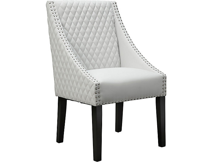 Fox Dining Chair - White, , large
