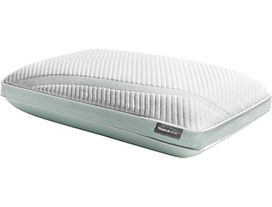 Tempur-Pedic Adapt ProHi + Cooling Memory Foam Queen Pillow, , large
