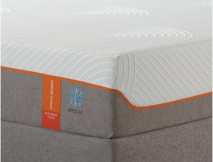 Tempur-Pedic Queen Elite Breeze 2.0 Mattress Set, , large