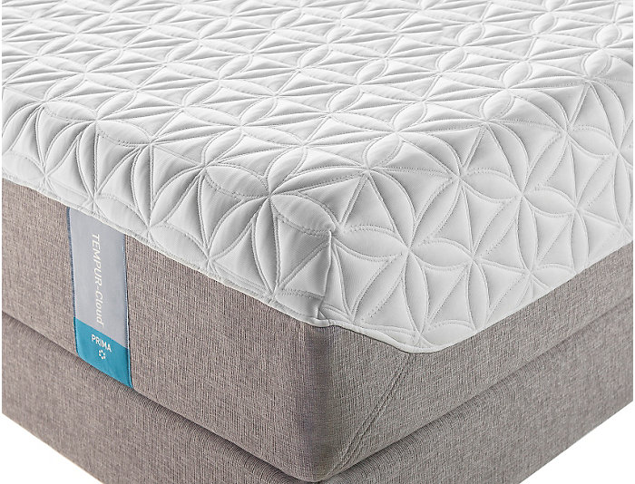 Tempur-Pedic Queen Cloud Prima Mattress Set, , large