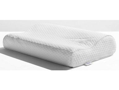 Tempur-Pedic Ergo Neck Support Memory Foam Small Pillow, , large