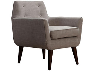 Clyde Linen Chair, Beige, , large