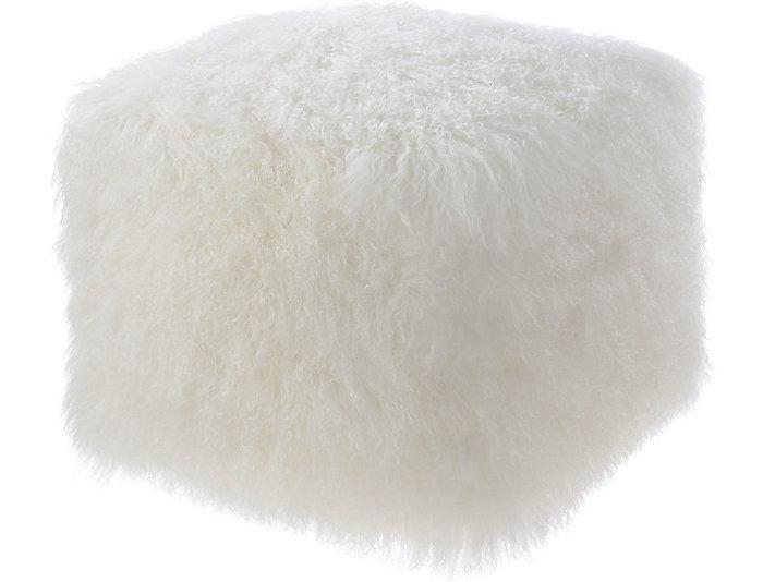Tibetan Sheep Pouf, , large