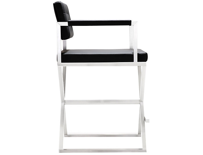 Director Steel Counter Stool, , large