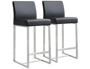 Brilliant Chandra Counter Chair Set Of 2 Gmtry Best Dining Table And Chair Ideas Images Gmtryco