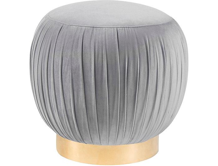 Heather Ottoman, Grey, Grey, large