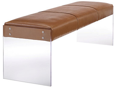 Envy Bench, Brown, large