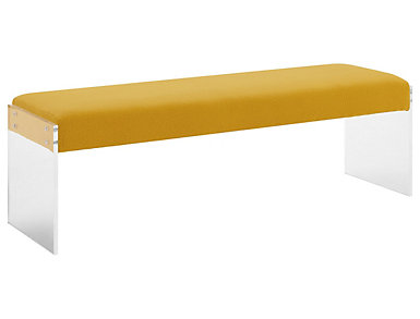 Envy Bench, Yellow, large
