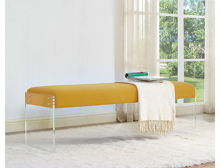 Envy Bench, Yellow, Yellow, large