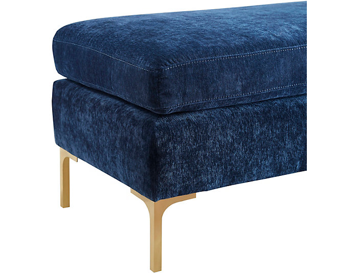 Martha Navy Bench, , large