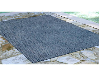 "Carmel Navy Textured 4'8"" x 7'6"" Rug, , large"