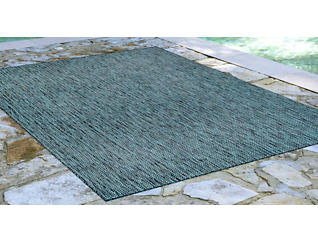 "Carmel Teal Textured 7'10"" x 9'10"" Rug, , large"