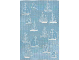 "Capri Sails 5 X7 6"" Rug, , large"