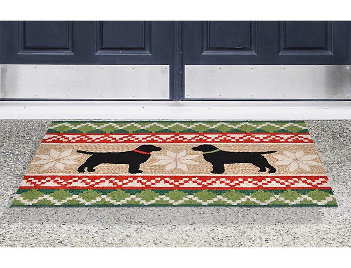 Nordic Dogs Indoor Outdoor Rug 20x30 Art Van Home