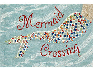 "Mermaid Crossing 24""X36"" Mat, , large"