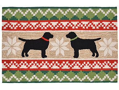 Nordic Dogs Indoor Outdoor Rug 24x36, , large