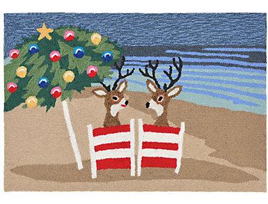 Coastal Christmas Indoor Outdoor 24x36, , large