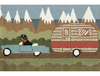 "Camping Dog 30""X48"" Doormat, , large"