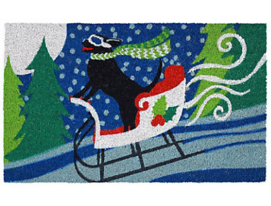 """Sled Dog Outdoor Mat 18""""X30"""", , large"""