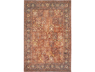 "Bakhtiari Red 23""X39"" Rug, , large"